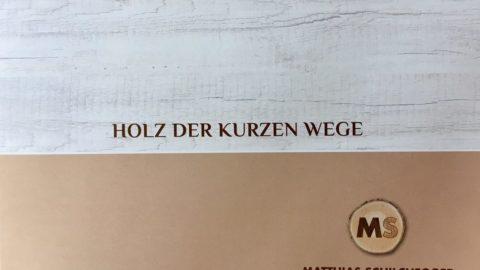 Werbung, die verkauft : Matthias Schilchegger Holz-Consulting