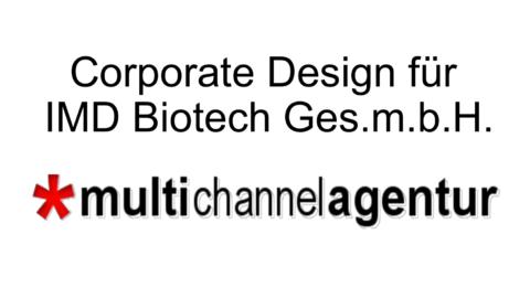 Corporate Design für Biotech – work in progress